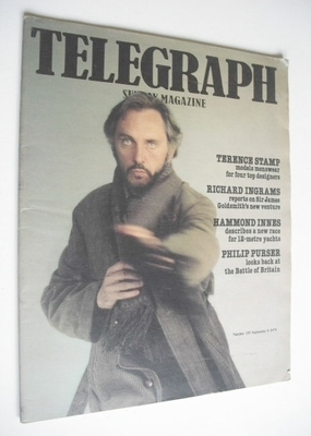 <!--1979-09-09-->The Sunday Telegraph magazine - Terence Stamp cover (9 Sep