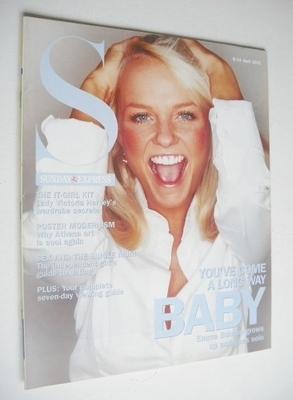 <!--2001-04-08-->Sunday Express magazine - 8 April 2001 - Emma Bunton cover