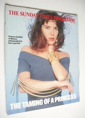 <!--1990-05-13-->The Sunday Times magazine - Princess Caroline cover (13 Ma