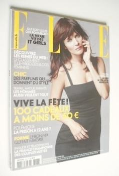 French Elle magazine - 8 December 2008 - Helena Christensen cover