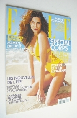 <!--2005-07-11-->French Elle magazine - 11 July 2005 - Stephanie Seymour co