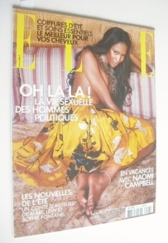French Elle magazine - 25 July 2005 - Naomi Campbell cover
