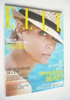 French Elle magazine - 4 July 2005 - Emmanuelle Beart cover