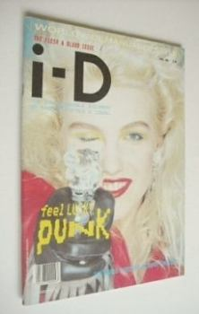 i-D magazine - Katie Westbrook cover (April 1985 - No 24)