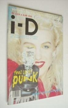 <!--1985-04-->i-D magazine - Katie Westbrook cover (April 1985 - No 24)