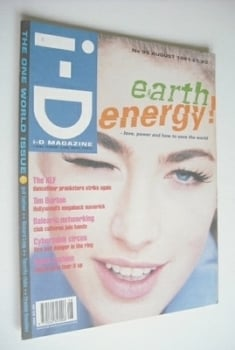 i-D magazine - Elaine Irwin cover (August 1991 - No 95)