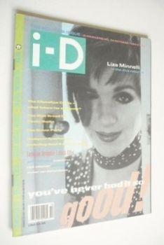 i-D magazine - Liza Minnelli cover (October 1989 - No 74)