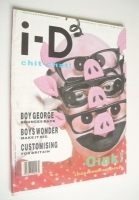 <!--1987-06-->i-D magazine - Leigh Bowery cover (June 1987 - No 48)