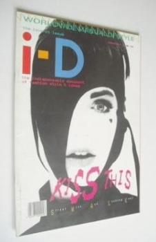 i-D magazine - Kathy Kanada cover (July 1985 - No 27)