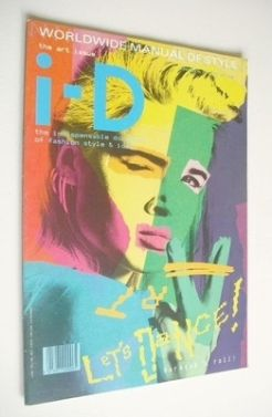 <!--1985-08-->i-D magazine - Lizzie Tier cover (August 1985 - No 28)