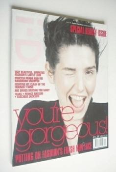 i-D magazine - Sharleen Spiteri cover (March 1997 - No 162)