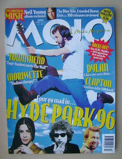 <!--1996-07-->MOJO magazine - July 1996 (Issue 32)