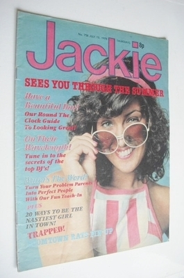 <!--1978-07-15-->Jackie magazine - 15 July 1978 (Issue 758)