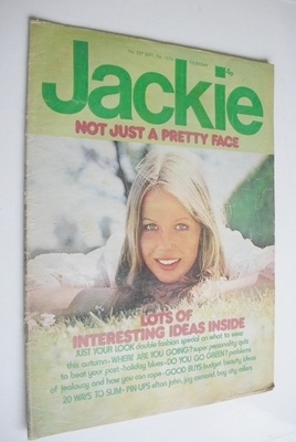 <!--1974-09-07-->Jackie magazine - 7 September 1974 (Issue 557)