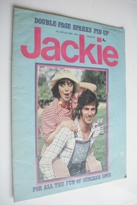 <!--1974-07-20-->Jackie magazine - 20 July 1974 (Issue 550)