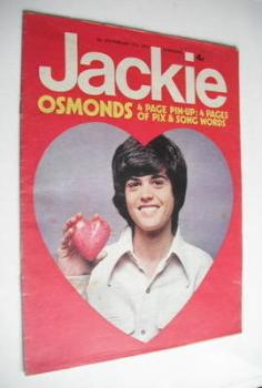 Jackie magazine - 17 February 1973 (Issue 476 - Donny Osmond cover)