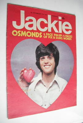 <!--1973-02-17-->Jackie magazine - 17 February 1973 (Issue 476 - Donny Osmo