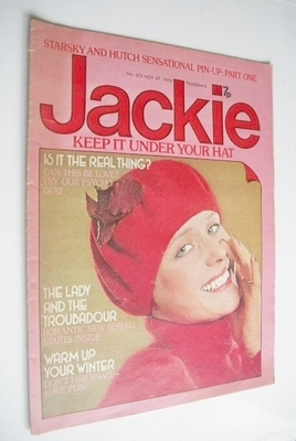<!--1976-11-27-->Jackie magazine - 27 November 1976 (Issue 673)