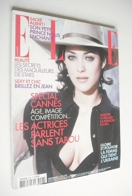 <!--2005-05-16-->French Elle magazine - 16 May 2005 - Marion Cotillard cove