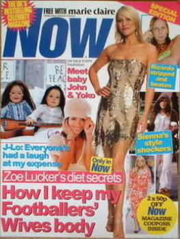 Now magazine - Zoe Lucker cover (Special Promotional issue)