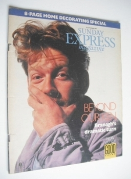 <!--1989-09-10-->Sunday Express magazine - 10 September 1989 - Kenneth Branagh cover