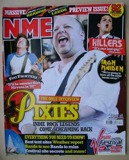 <!--2005-08-27-->NME magazine - Frank Black cover (27 August 2005)