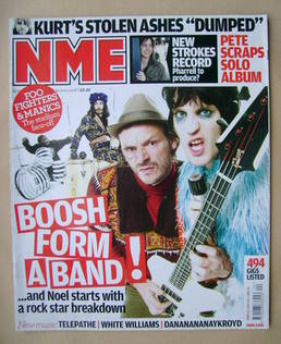 <!--2008-06-14-->NME magazine - The Mighty Boosh cover (14 June 2008)