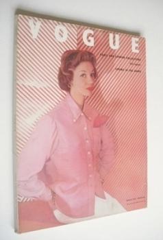 British Vogue magazine - March 1953 (Vintage Issue)