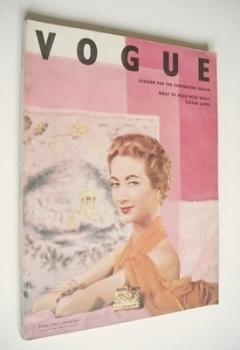 British Vogue magazine - April 1953 (Vintage Issue)