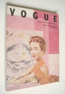<!--1953-04-->British Vogue magazine - April 1953 (Vintage Issue)
