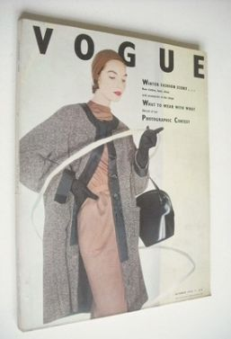 <!--1953-10-->British Vogue magazine - October 1953 (Vintage Issue)