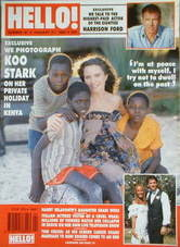 <!--1990-01-27-->Hello! magazine - Koo Stark cover (27 January 1990 - Issue