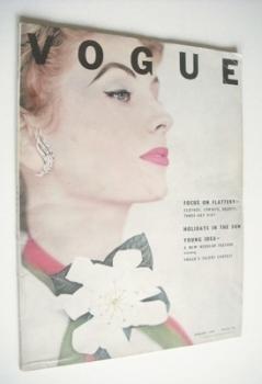 British Vogue magazine - January 1953 (Vintage Issue)