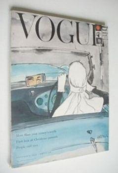 British Vogue magazine - November 1953 (Vintage Issue)