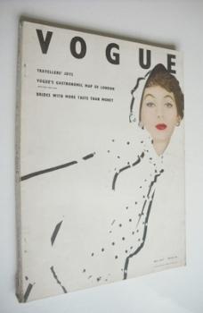 British Vogue magazine - May 1953 (Vintage Issue)