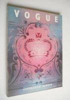<!--1953-06-->British Vogue magazine - June 1953 - Coronation Issue