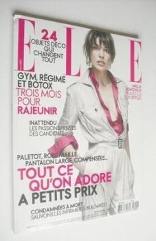 French Elle magazine - 2 April 2007 - Milla Jovovich cover