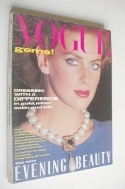 <!--1984-10-->British Vogue magazine - October 1984 (Vintage Issue)