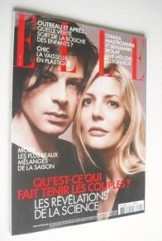 French Elle magazine - 7 June 2004 - Chiara Mastroianni and Benjamin Biolay cover
