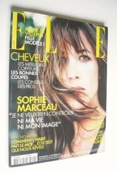 French Elle magazine - 12 September 2005 - Sophie Marceau cover