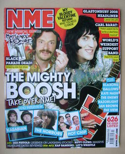 <!--2007-11-24-->NME magazine - The Mighty Boosh cover (24 November 2007)