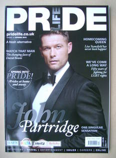 Pride Life magazine - John Partridge cover (Spring 2013 - Issue 12)