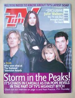 <!--2001-11-03-->TV Times magazine - Peak Practice cover (3-9 November 2001