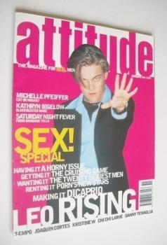 <!--1996-01-->Attitude magazine - Leonardo DiCaprio cover (January 1996 - Issue 21)
