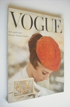 British Vogue magazine - March 1954 (Vintage Issue)