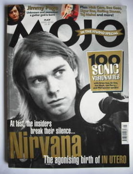MOJO magazine - Kurt Cobain cover (May 2001 - Issue 90)