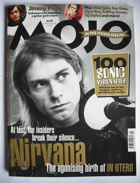 <!--2001-05-->MOJO magazine - Kurt Cobain cover (May 2001 - Issue 90)