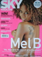 <!--2000-09-->Sky magazine - Mel B cover (September 2000)