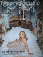 <!--2004-02-21-->Telegraph magazine - Romola Garai cover (21 February 2004)