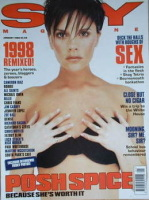 <!--1999-01-->Sky magazine - Victoria Beckham cover (January 1999)